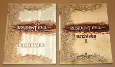 Resident Evil Archives Buch 2-Book-Set Volume 1 & 2 I II