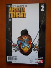 ULTIMATE IRON MAN #2 2005 Marvel Comics  [SA43]