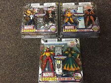 2006 TOY BIZ MARVEL LEGENDS ARCH ENEMIES FACE OFF SET OF 3 2 PACK ACTION FIGURE