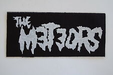 Meteors Cloth Patch Psychobilly Rockabilly Mad Sin Tiger Army (CP241)