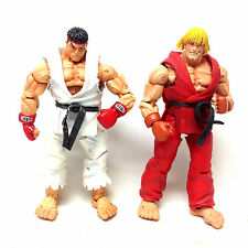 "CAPCOM Games STREET FIGHTER  KEN v RYU 6"" video game figures, ps3, wii, x box"