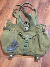 Oakley Bag Tote Satchel Handbag Purse Large Carry Canvas Military Green