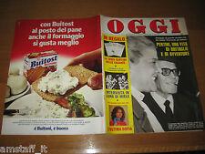OGGI 1978/29=SANDRO PERTINI PRESIDENTE=SOFIA LOREN=RITA PAVONE=ANDY WARHOL=