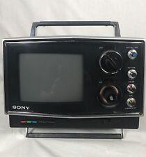 Vintage Portable Sony Trinitron KV-5000 Color Television TV Receiver
