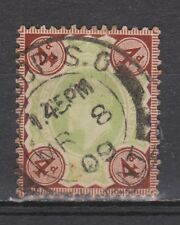 Great Britain nr 109 TOP CANCEL EDWARD VII 1902 VEILING oude postzegels ENGELAND