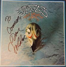 The Eagles Don Felder Signed Autographed Greatest Hits Album Photo Proof -Henley
