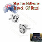 Rhodium Plated Transformers Prime mirror face Cufflinks (Gift Boxed)