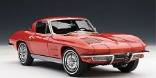1:18 AUTOart 1963 Chevrolet Corvette Coupe RED