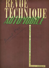 (C16) REVUE TECHNIQUE AUTOMOBILE CITROEN Diesel type 45 / BUICK 40 50 60 70 90