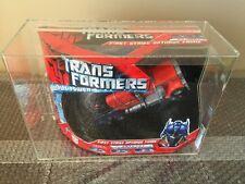 2007 Hasbro transformers:movie  ALL Spark 1st Strike Optimus Prime AFA 85/85/90