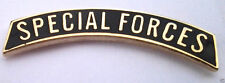 *** SPECIAL FORCES TAB ***  Military Veteran Hat Pin P12362 EE