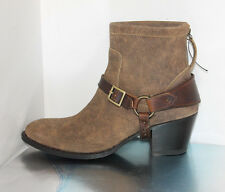 10018066 Ariat Two24 Women's Segovia Dress Boots, Distressed Brown  - Size US 8