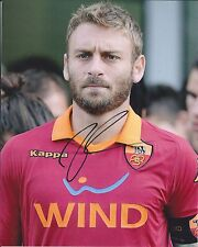 DANIELE DE ROSSI SIGNED AUTOGRAPHED 8X10 PHOTO ITALY ITALIA AS ROMA PROOF