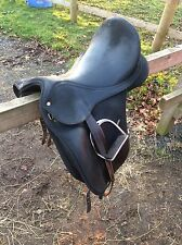 "Wintec Isabell Werth Wintec Dressage Saddle 17.5"" Cair With Changeable Gullet"