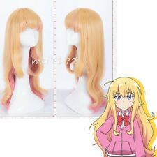 Anime Gabriel DropOut Gabriel Tenma White Cosplay Full Wig Long Wig Hair Womens