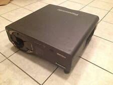 Panasonic PT-D7700U-K 720P Projector 7000 LUMENS 3CHIP DLP, LONG LIFE LAMPS!