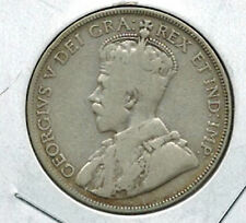 Canada 1934 50 Cents Silver George V Scarce Date