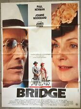 Affiche Mr. & Mrs. BRIDGE James Ivory JOANNE WOODWARD Paul Newman 120x160cm *