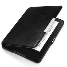 New Skin Magnetic Auto Sleep Leather Cover Case For Amazon Kindle Paperwhite 1 2