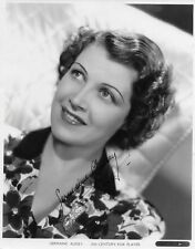 1930s French Actress GERMAINE AUSSEY Signed Photo - SPEAK TO ME OF LOVE Star