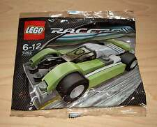 Lego Racers - 7452 Lime / Black Racer Rennwagen Tütchen Polybag Set Race Neu