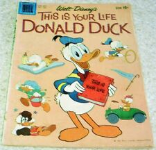 Walt Disney's This is Your Life Donald Duck 4-Color 1109 VGFN 5.0 50% off Guide!