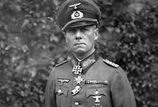 WWII B&W Photo Field Marshal Erwin Rommel  WW2 / 2024