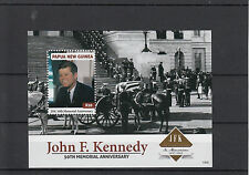 Papua New Guinea 2013 MNH John F Kennedy 50th Memorial Anniversary 1v Sheet JFK