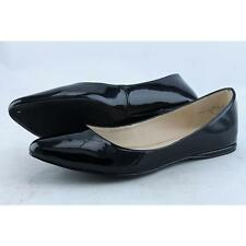 Nine West Onlee Women US 7 Black Flats Pre Owned 2629