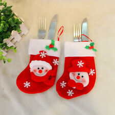 1PCS Christmas Stockings-Santa Claus & Snowman-Holiday Gift Bags New Year 2016