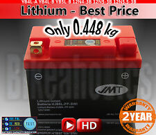 Lightweight motorcycle lithium battery ONLY 448g Replace YB5L-BS MF AGM LiFePO