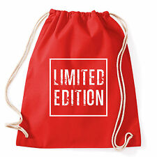 Art T-shirt, Zaino Limited Edition, Rosso,Sacca Gym