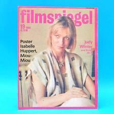 DDR Filmspiegel 19/1986 Golzow Isabelle Huppert Miou-Miou Elisabeth Taylor Q