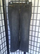 L.E.I. eDenim Size 11 Junior Flare Black Washed Jeans