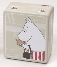 Moomin Tin Can for Tea Bags New Moomin Mamma Beige Martinex Finland