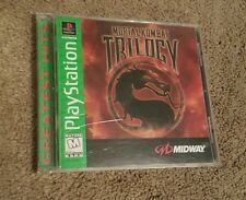 Mortal Kombat Trilogy Sony PlayStation 1 PS1 PS2 1996 Complete Greatest Hits
