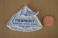 Vintage - Piermont, Sparkling Spring Water With Apple - Badge - Plastic