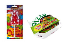 "Giant Fraise gommeuses bear 227g + géant 8 "" 435g jungle Candy bug pizza"