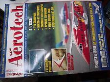 µµ Aerotech n°1 Plan encarté Variante / Proteus Shorts 360 T-6 Micro Jet Dornier