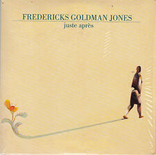 CD CARTONNE CARDSLEEVE FREDERICKS GOLDMAN JONES JUSTE APRES 2T 1994