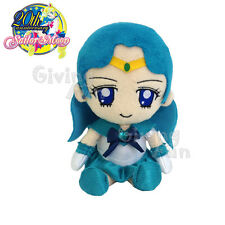"GENUINE BANDAI Sailor Moon 20th Anniversary Sailor Neptune 7.5"" Plush Doll Toy"