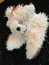 PRIMARK SLIPPER BOOTS FAUX FUR SHAGGY DOG SIZE 6-8 NEW GIFT