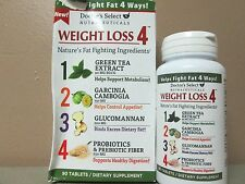 2 Doctors Select Weight Loss 4 GREEN TEA PROBIOTICS PREBIOTIC 2x90 2/19 DE 5660