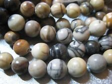 Picasso Jasper 8mm Round Beads 53pcs