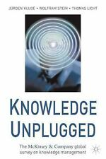 Knowledge Unplugged: The McKinsey & Company Global Survey on Knowledge Managem..