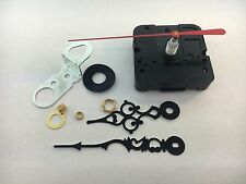 """Takane Quartz Battery Clock Movement with Hands 5/8"""" Shaft fits 1/4"""" Dial USA"""