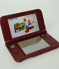 New Nintendo 3DS XL Game Console RED + Super Mario 3D Land + Charger - USED