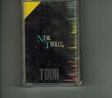 "NEW TROLLS ""TOUR"" CASSETTE ITALO MC NEW MADDALONE VITANZA USAI SALVI 1985 SEALED"