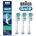 Braun Oral-B DUAL CLEAN Electric Toothbrush Replacement Brush Heads 3 Pack
