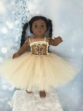 "Kaya Inspired Tutu dress And American Girl Doll clothes fits all 18"" dolls"